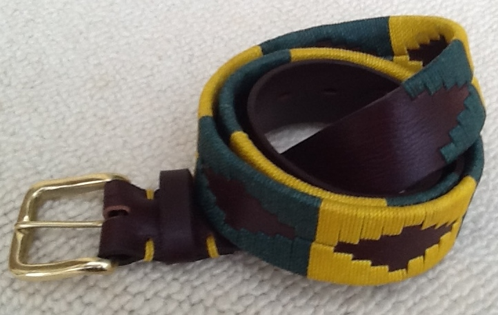 Polo Belt - green/yellow