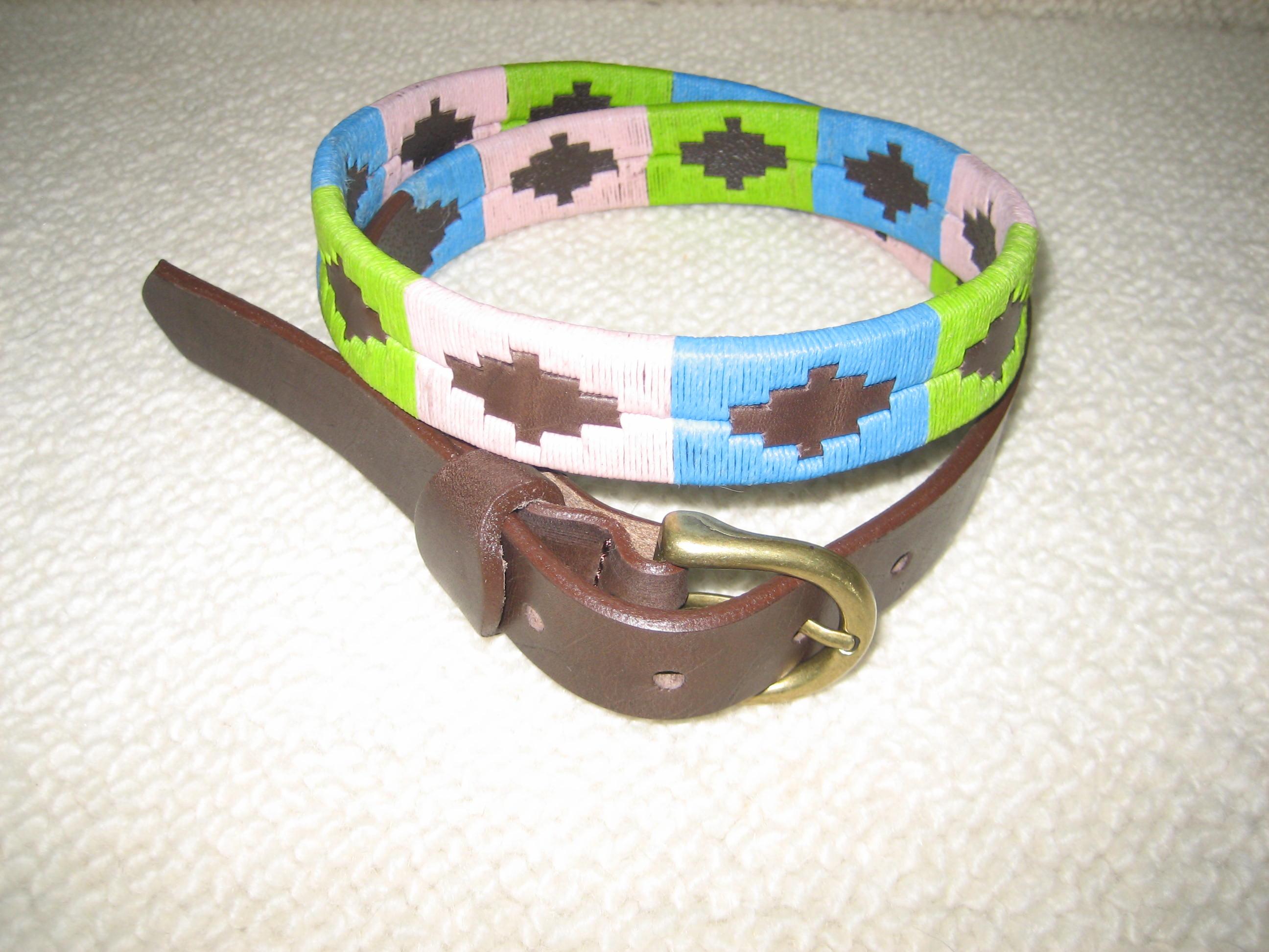 Argentine 'Pastel' Belt