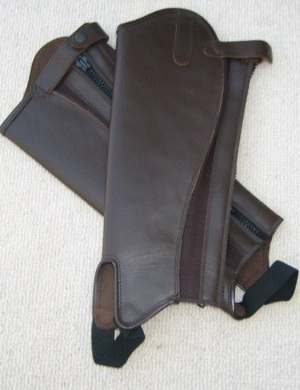 Leather Half Chaps