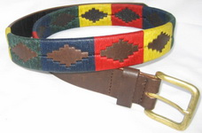 'Multi Coloured' Polo Belt