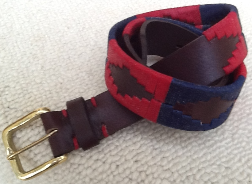 Polo Belt red/navy