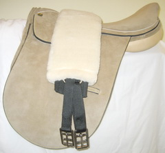 Simulated Sheepskin Girth Sleeve