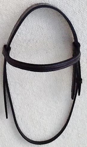 Headpiece with brow band