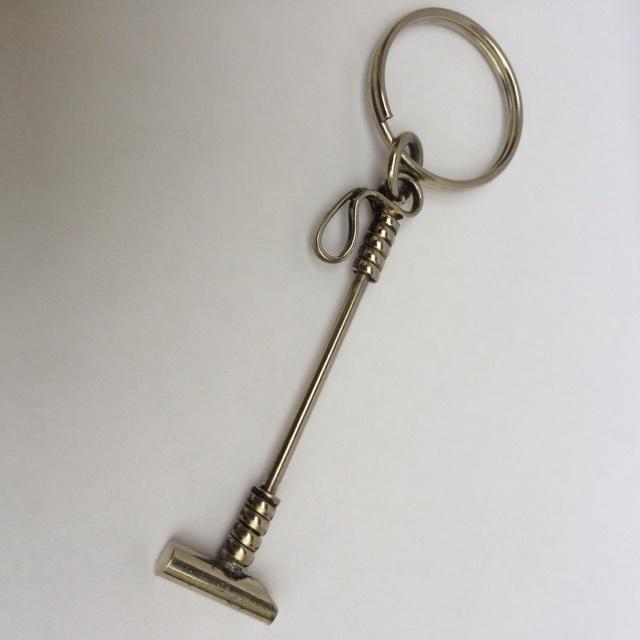 Alpaca Polo Stick Keyring