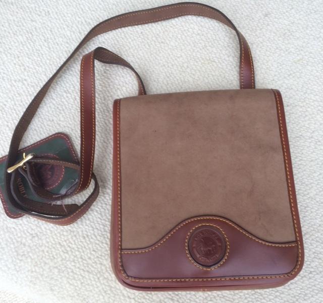 Suede Handbag