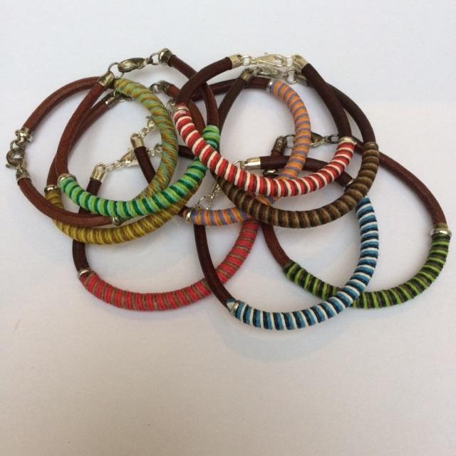Argentine Leather Bracelet
