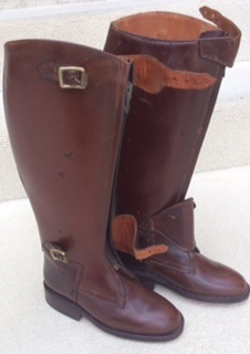 Zip Polo Boots