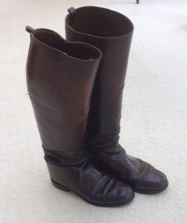 Dark Brown Leather Polo Boots