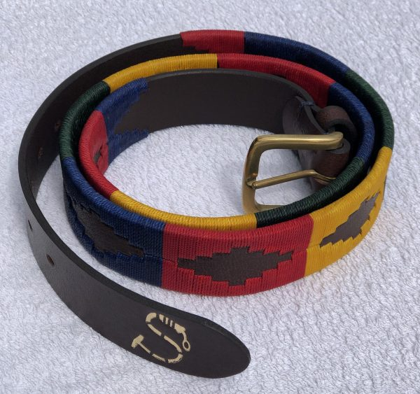 Multi Coloured Polo Belt