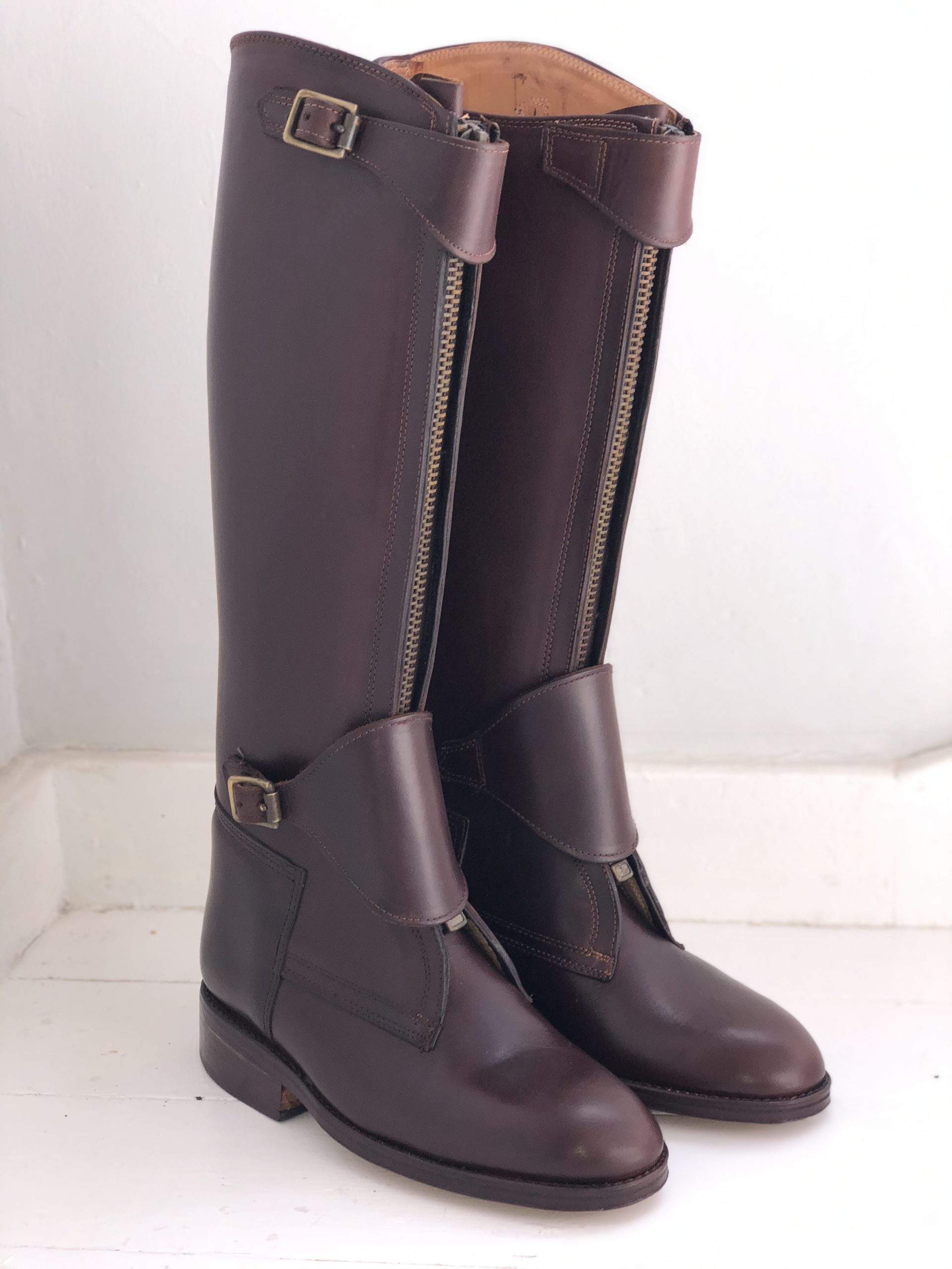 Argentine Polo Boots with zips
