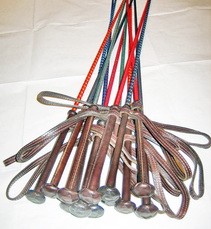 Whip with Leather Handle