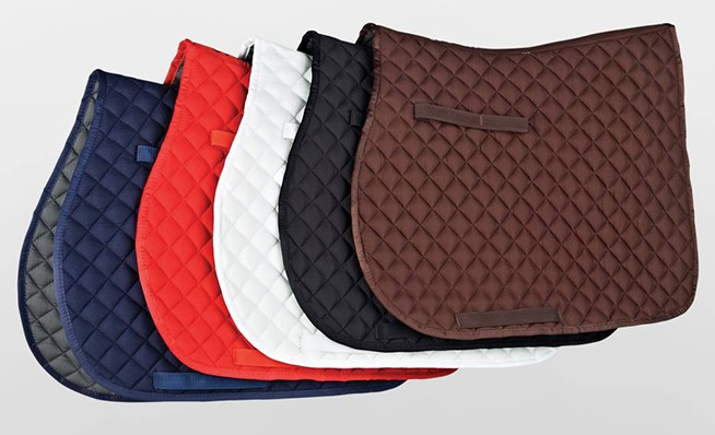 Quilted Saddlecloths