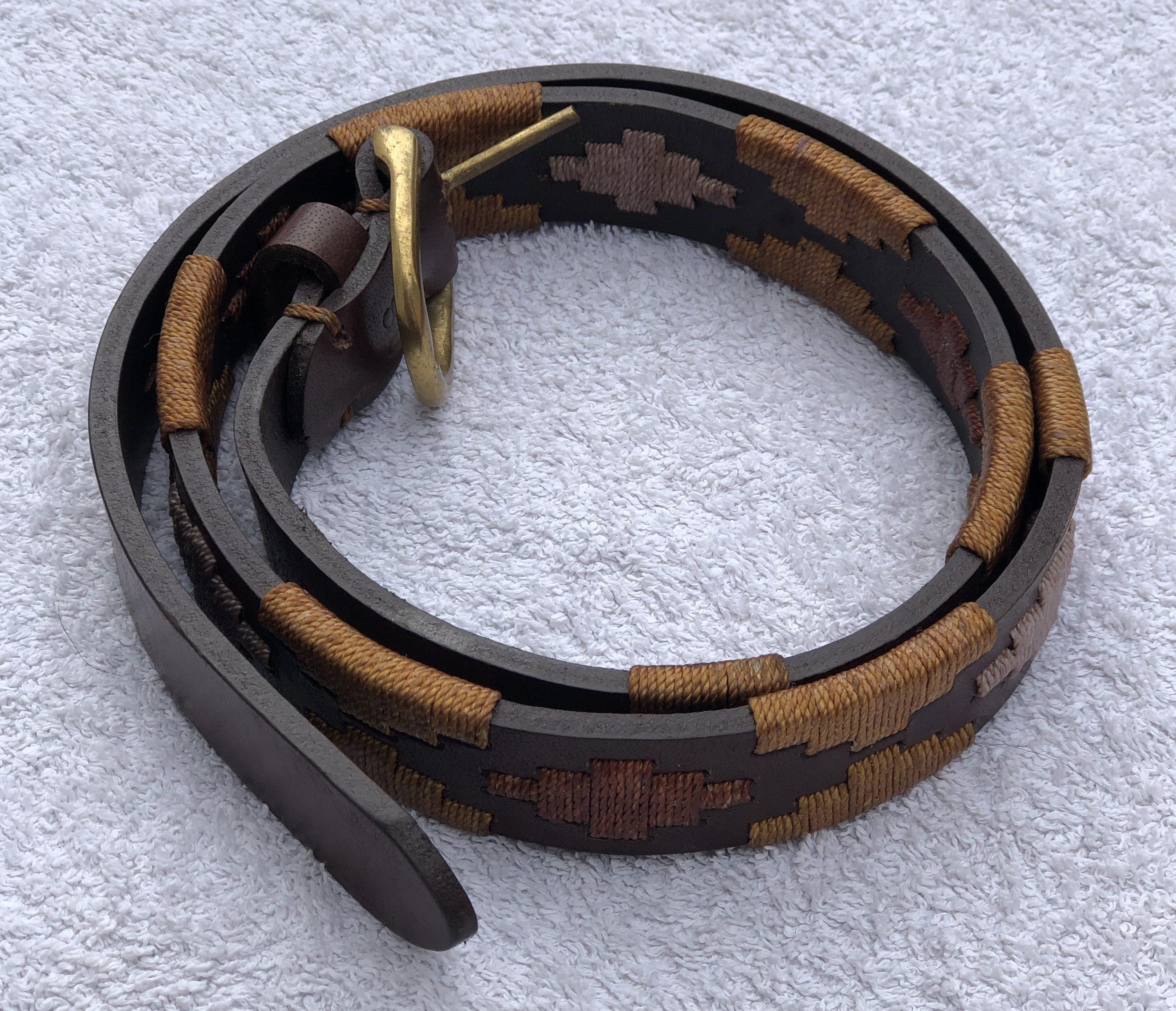 'Pardo' Polo Belt