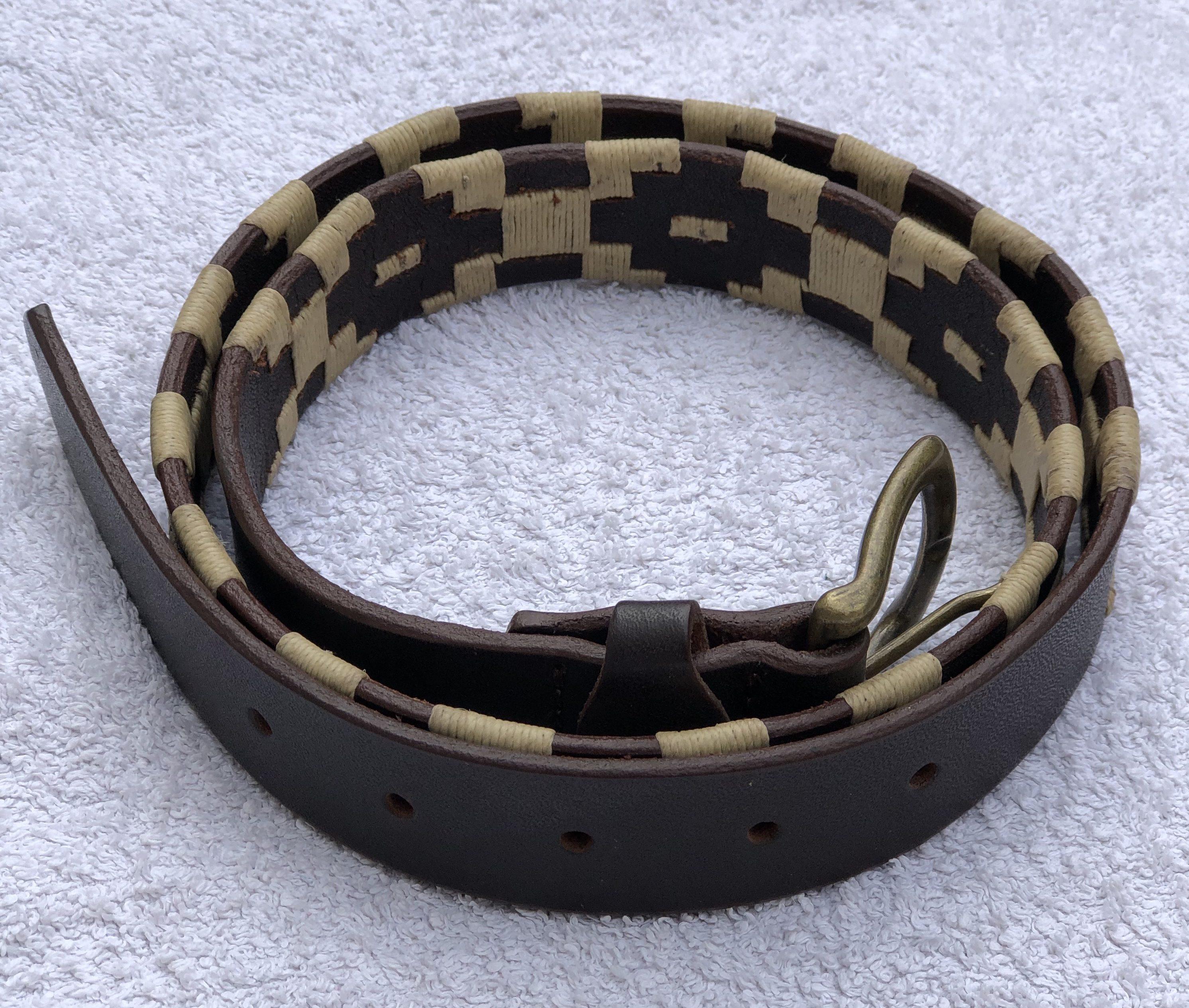 'Pilar' Polo Belt