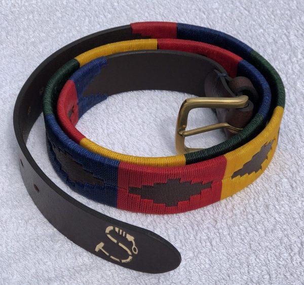 Multi Coloured Polo Belt